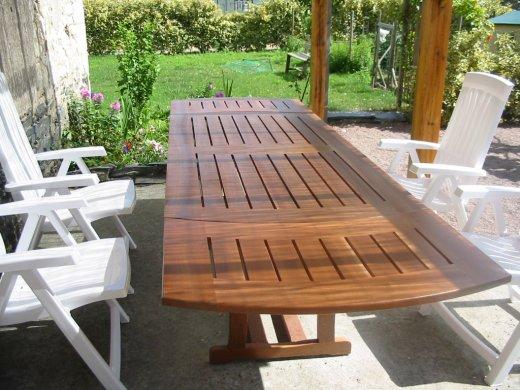 Faire Une Table De Jardin - Intérieur Déco